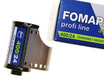 Fomapan 400/24 фильм Foma черно-белый BW 09.2022 доставка товаров из Польши и Allegro на русском