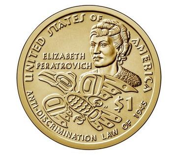 Индианка 2020 - Native American Sacagawea Dollar доставка товаров из Польши и Allegro на русском