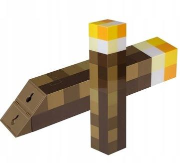 Minecraft факел для детей световой бра 3 в 1 доставка товаров из Польши и Allegro на русском