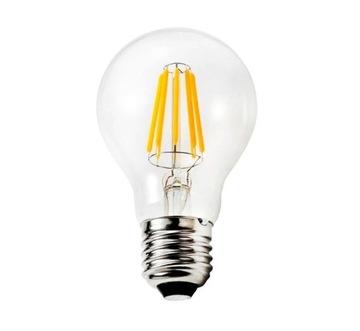 СВЕТОДИОДНАЯ лампа E27 12W нити эдисон ретро декоративная доставка товаров из Польши и Allegro на русском