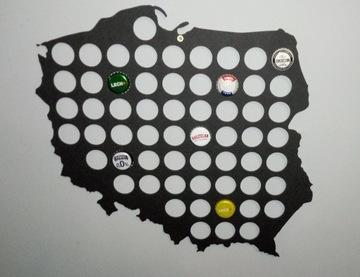 Карта пивная крышка 40x40см 60 отверстий  доставка товаров из Польши и Allegro на русском