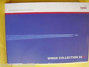 Каталог Herpa Wings Collection 2004 - Самолеты доставка товаров из Польши и Allegro на русском