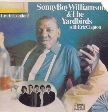 Сонни Бой Уильямсон Yardbirds Эрик Клэптон Live доставка товаров из Польши и Allegro на русском