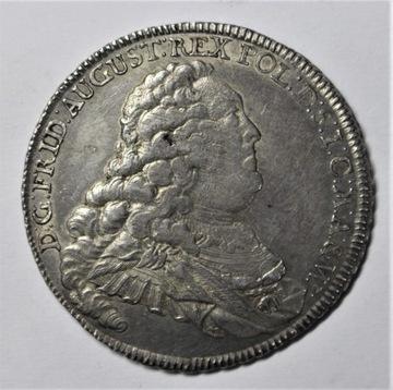 (August III Sas, Доллар Дрездене 1757 IDB - с монограммой) доставка товаров из Польши и Allegro на русском