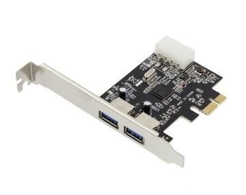 КОНТРОЛЛЕР PCI-E, 2 x USB 3.0 AK249 доставка товаров из Польши и Allegro на русском