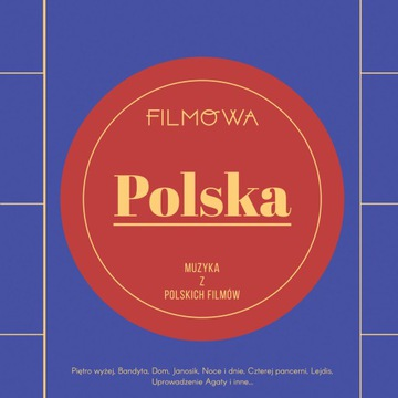 КИНО-ПОЛЬША, Музыка из польских фильмов LP доставка товаров из Польши и Allegro на русском