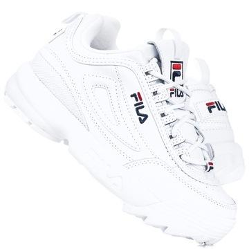 Женская обувь Fila Disruptor II Premium 1010302-1FG доставка товаров из Польши и Allegro на русском