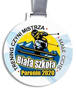 Медали-Медали деревянные ПЕЧАТЬ Спорт Твой ТЕКСТ MD5 доставка товаров из Польши и Allegro на русском