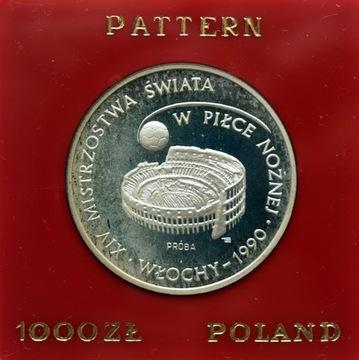 1000 ZŁ ИТАЛИЯ 1988 ПРОБА - MENNICZA (ND) доставка товаров из Польши и Allegro на русском