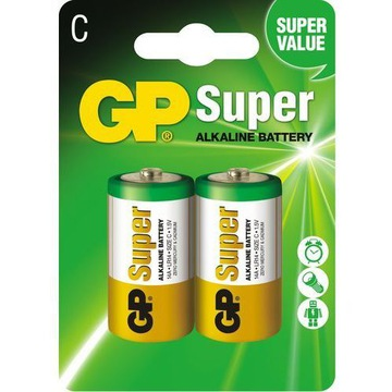 Батарейка GP Alkaline LR14 C 1.5 V 2шт 14A-U2 доставка товаров из Польши и Allegro на русском