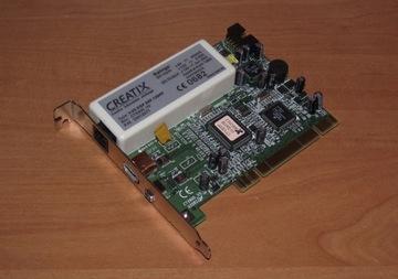 Modem + Firewire Creatix CTX900 V5 56K PCI доставка товаров из Польши и Allegro на русском