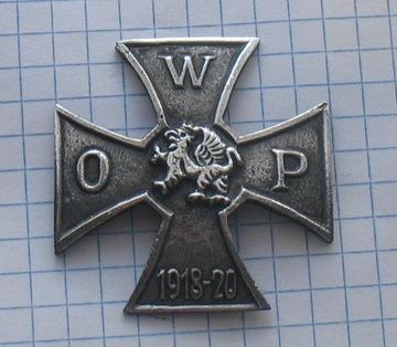 знак WOP 1918-1920 гг. доставка товаров из Польши и Allegro на русском