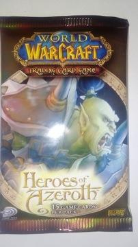 World of Warcraft TCG Heroes of Warcraft booster доставка товаров из Польши и Allegro на русском