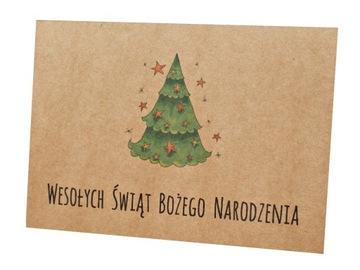 Рождественские открытки рождественские эко с логотипом доставка товаров из Польши и Allegro на русском
