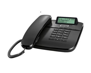 Проводной телефон Gigaset DA 611 черный НОВИНКА!!! доставка товаров из Польши и Allegro на русском