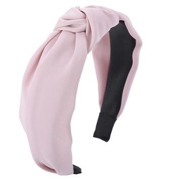 Повязка для волос пудровый роз розовый узел узел доставка товаров из Польши и Allegro на русском