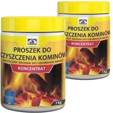 (Порошок для чистки дымохода HANSA КОНЦЕНТРАТ 2кг) доставка товаров из Польши и Allegro на русском