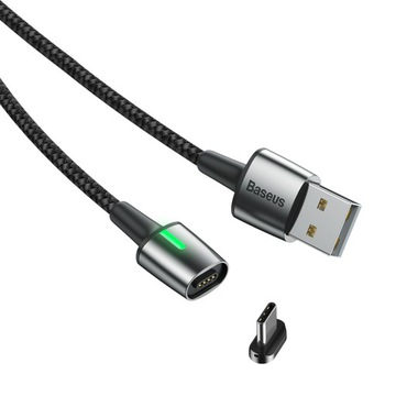Baseus высокоскоростной кабель магнитный USB Type-C, 3A 1М доставка товаров из Польши и Allegro на русском