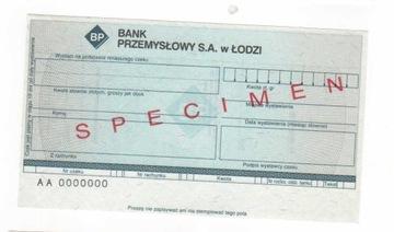 чек печатается Промышленный Банк в Лодке BP2 доставка товаров из Польши и Allegro на русском