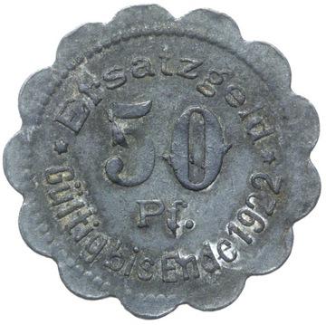 + Stettin - Щецин - NOTGELD - 50 Pfennig 1920 доставка товаров из Польши и Allegro на русском