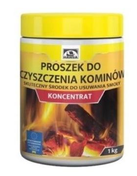 Порошок для чистки дымохода HANSA 1кг КОНЦЕНТРАТ доставка товаров из Польши и Allegro на русском