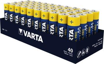 40 x VARTA INDUSTRIAL БАТАРЕЙКА АА LR06 (лоток) доставка товаров из Польши и Allegro на русском