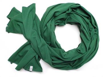 Длинный ШАРФ ПЛАТОК 100% хлопок Zolla зеленый доставка товаров из Польши и Allegro на русском