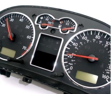 VW GOLF IV 4 BORA РАМКА ХРОМ КОЛЬЦА, ЧАСЫ, СЧЕТЧИК доставка товаров из Польши и Allegro на русском