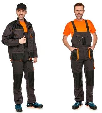Моб.брюки нагрудник + толстовка рабочее CLASSIC 58 доставка товаров из Польши и Allegro на русском