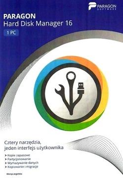 PARAGON Hard Disk Manager 16 1ШТ доставка товаров из Польши и Allegro на русском
