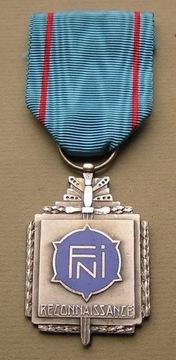 Бельгия FNI Reconnaissance Medaille доставка товаров из Польши и Allegro на русском