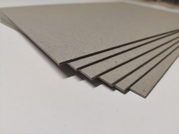 Картон картон моделируя 1,5 мм A4 10шт серый доставка товаров из Польши и Allegro на русском