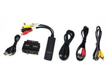Комплект Grabber Audio/Video, USB-Win7 8 10 + кабели доставка товаров из Польши и Allegro на русском