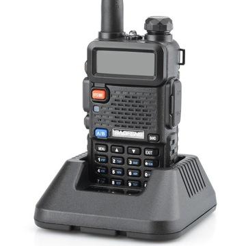 Baofeng UV-5R HT 5W Радиостанция PMR НОВАЯ ВЕРСИЯ доставка товаров из Польши и Allegro на русском