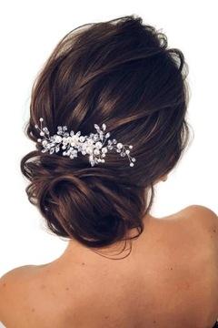 СТЕЛЛА свадебное украшение для волос гребешок КРИСТАЛЛЫ доставка товаров из Польши и Allegro на русском