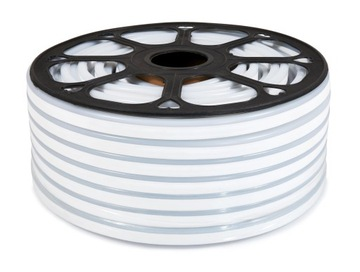 Лента 2835 LED 230V 1м IP68 НЕОН Белый Нейтральный доставка товаров из Польши и Allegro на русском