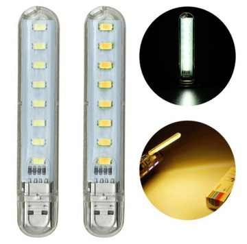 LED освещение на microUSB OTG / USB, 8 светодиодов SMD доставка товаров из Польши и Allegro на русском