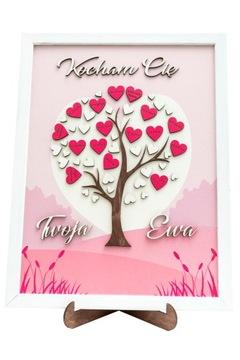 Подарок на день святого валентина 3d картина рама для нее него доставка товаров из Польши и Allegro на русском