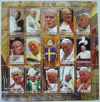 (Папа римский ИОАНН ПАВЕЛ II 2012 arkusik чистый [**] #185) доставка товаров из Польши и Allegro на русском