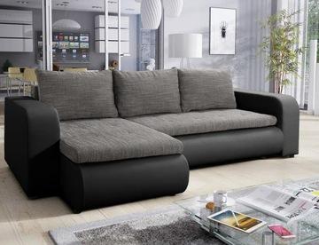 Современный Угловой диван БРУКЛИН серый раскладной доставка товаров из Польши и Allegro на русском