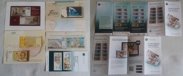 Папки для банкнот набор из 10 шт язык польский доставка товаров из Польши и Allegro на русском