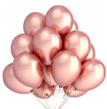 Воздушный шар металлик rose gold 10 шт. свадьба, день рождения доставка товаров из Польши и Allegro на русском