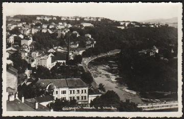 ЦЕШИН. ВИД ИЗ ЗАМКА. 1939 ФОТОГРАФИЯ доставка товаров из Польши и Allegro на русском