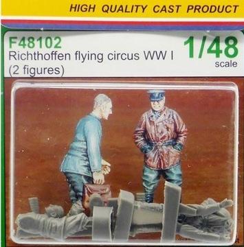 ЦМК F48102 Richthoffen flying circus WW И 1:48 24Ч доставка товаров из Польши и Allegro на русском