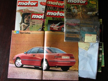(Motor 13 выпусков из 90-х с плакатами) доставка товаров из Польши и Allegro на русском