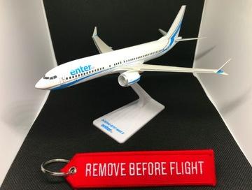 Модель самолета ENTER AIR Boeing 737 MAX 8 + ДОСТАВКА доставка товаров из Польши и Allegro на русском