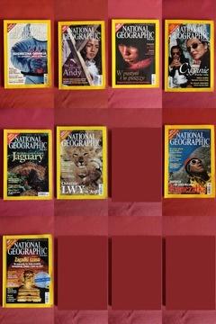 National Geographic Польша 1-6; 8,9/2001 доставка товаров из Польши и Allegro на русском