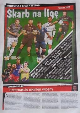 Сокровище фан-Футбол I, II Лига - весна 2020 доставка товаров из Польши и Allegro на русском