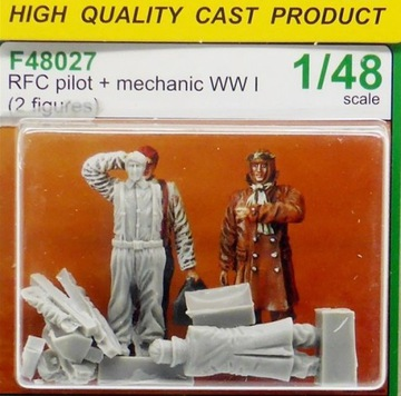 ЦМК F48027 RFC Пилот + Mechanic WW И 1:48 24Ч доставка товаров из Польши и Allegro на русском