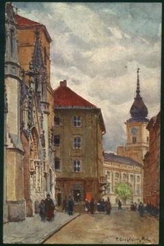 Warszawa Świętojańska Cieślewski Salon Kulik. 1921 доставка товаров из Польши и Allegro на русском